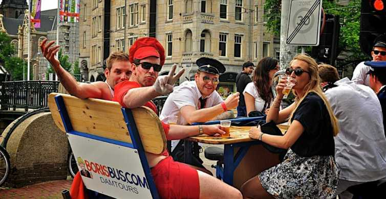 Ámsterdam: Hora y media en bicicleta cervecera privada