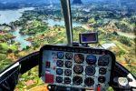 Guatapé: Helicopter Flight Over Peñol Rock