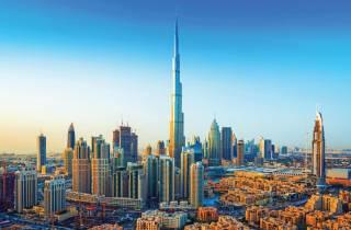 Dubai: Halbtägige Bustour und Eintritt zum Burj Khalifa