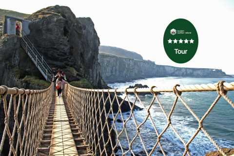 From Belfast: Giant's Causeway Guided Tour with Admissions