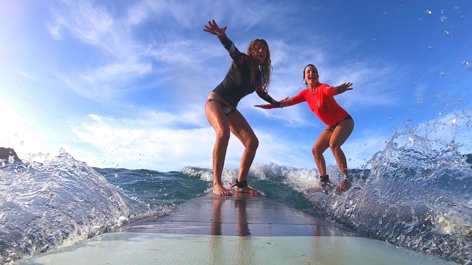 Waikiki Beach: 1-Hour Surf Lesson for 2 People