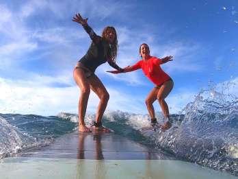 Waikiki Beach: 1-stündiger Surfkurs für 2 Personen