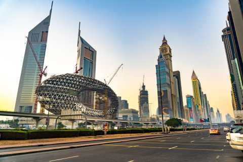 Dubai: Halvdagstur i den moderne by