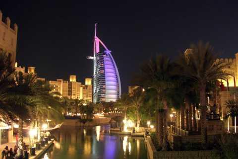 Dubai by Night 4-timers tur