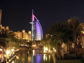 Dubai bei Nacht: Sightseeingtour