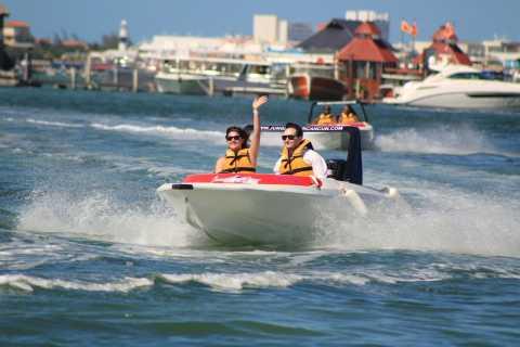 Cancún: Speedboat, Snorkel & Jet Ski Rental Combo Tour