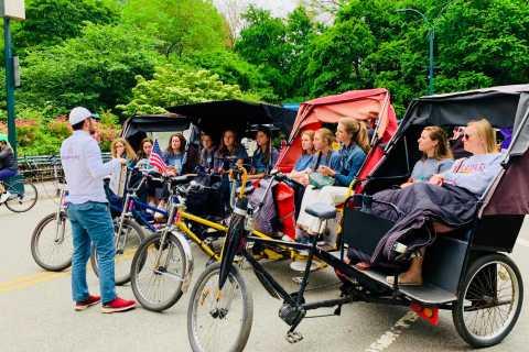 Nueva York: tour privado en bicitaxi por Central Park