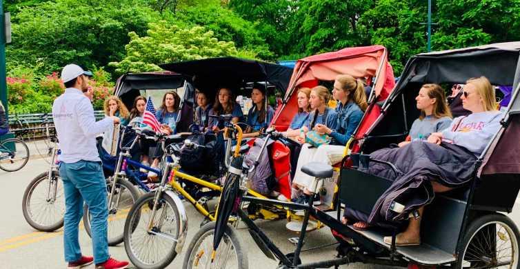 New York City: Private Central Park Pedicab Tour