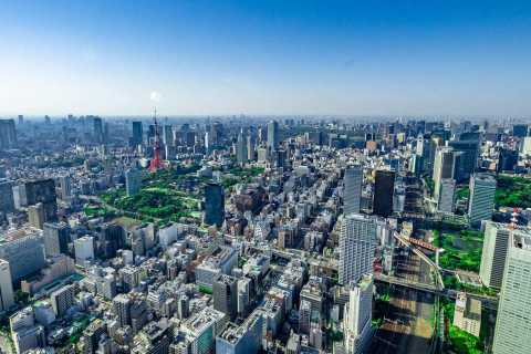 Tokyo: 30 Minute Sky Cruising Helicopter Tour