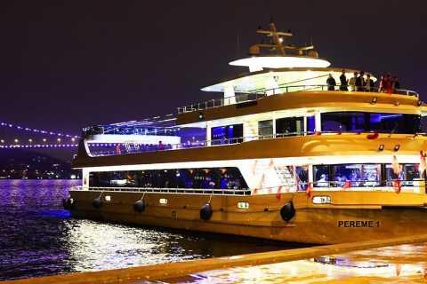 Istanbul: Turkish Entertainment Bosphorus Dinner Cruise