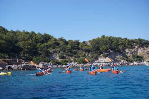 Rhodes: 2-Day Sea Kayaking and Hiking Combo Activity