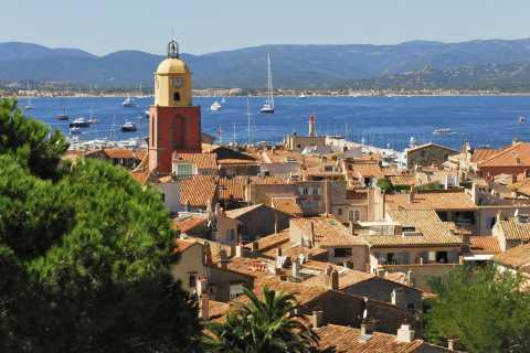 Nice a Saint-Tropez: Transporte de Ida e Volta de Barco