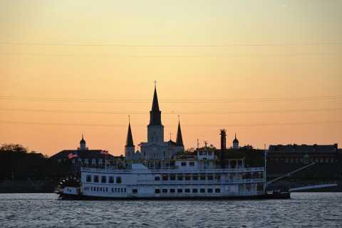 Nueva Orleans: crucero nocturno de jazz con cena opcional