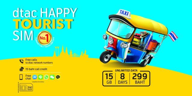 Phuket International Airport, Thailand: 4G 8-Day SIM Card