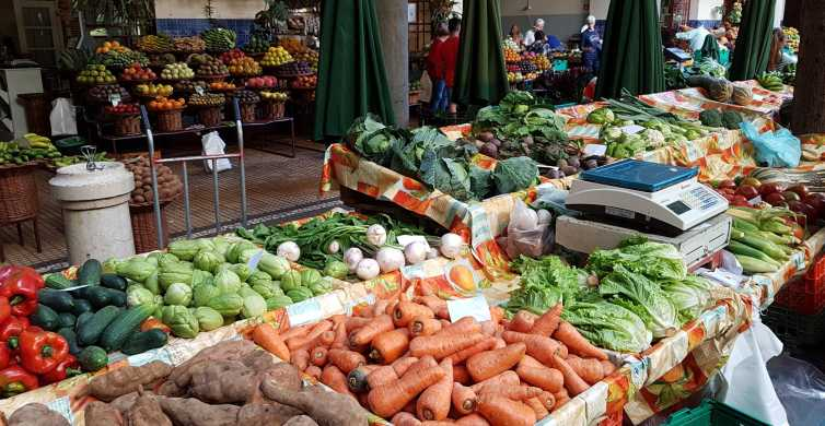 Madeira: Private Half-Day Local Market Tour