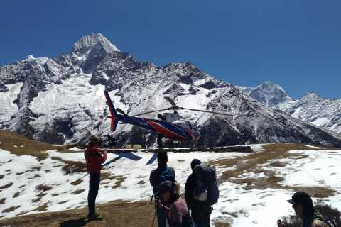 Pokhara: Helicopter Flight to Annapurna Base Camp