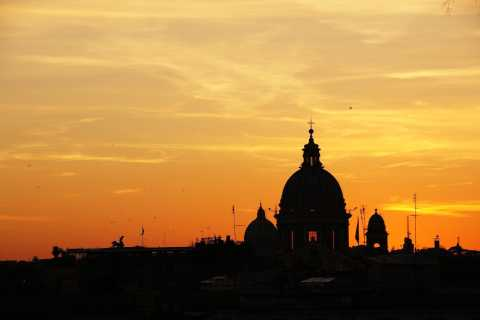 Rome: Sunset Piazza Sightseeing with Aperitivo