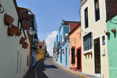From Puebla: Atlixco and Atlimeyaya Private Tour