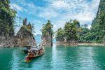 Cheow Lan Lake & Coral Cave Tour with Kayaking