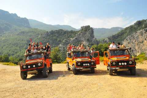 From Kusadasi: Full-Day Jeep Safari to National Park