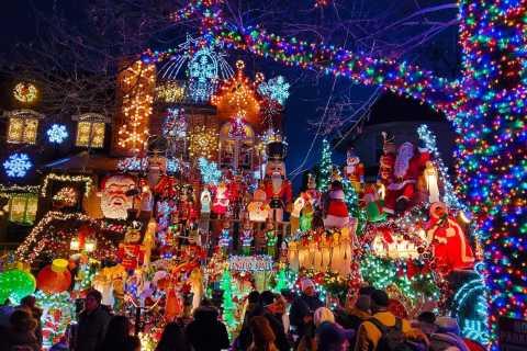 Manhattan: Excursão Luzes de Natal Dyker Heights 4 Horas