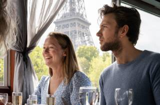 Paris: Bootsfahrt auf der Seine mit 3-Gänge-Mittagessen