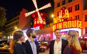Eiffel Tower, Dinner, Cruise, & Champagne at Moulin Rouge