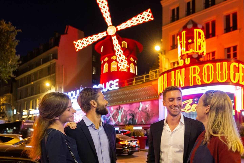 Paris: Dinner auf dem Eiffelturm, Bootstour & Moulin Rouge