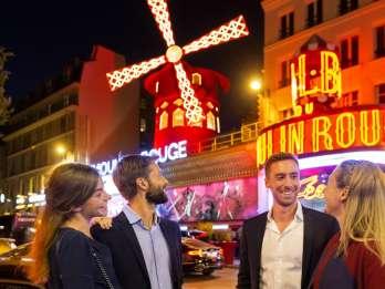 Eiffelturm, Dinner, Bootsfahrt & Champagner im Moulin Rouge