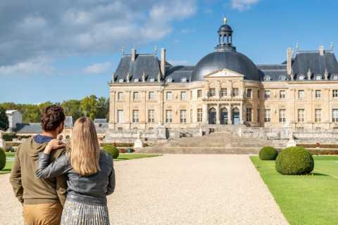 Depuis Paris : 1 j Châteaux Fontainebleau et Vaux-le-Vicomte