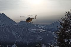 Chamonix: Vôo de helicóptero ultraleve sobre Chamonix