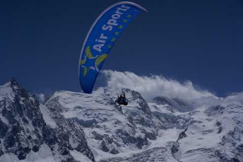 Chamonix: volo in parapendio in tandem