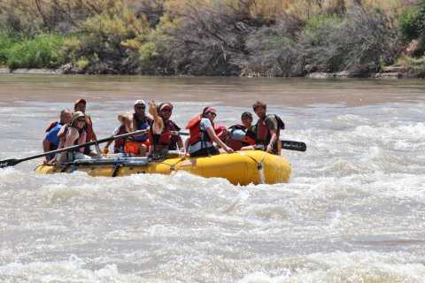 Moab: Half-Day Rafting Trip on Colorado River