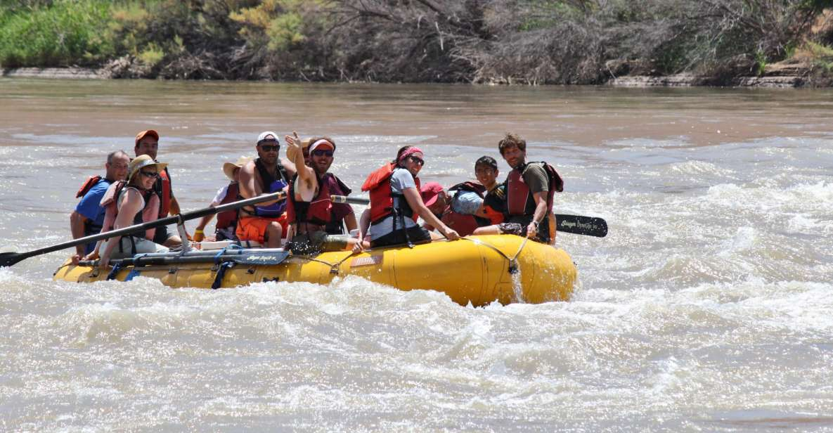 From Moab: Colorado River Half-Day Rafting Trip