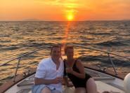 Von Sorrento: Private Sunset Boat Tour nach Capri