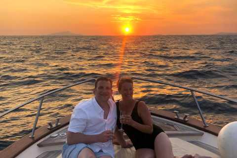 From Sorrento: Private Sunset Boat Tour to Capri