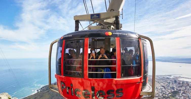 Cidade do Cabo: Montanha da Mesa e Chapman's Peak Drive