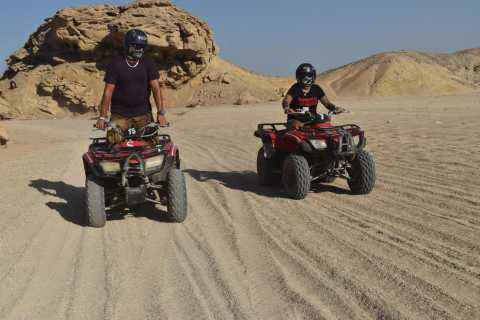 From Marsa Alam: 3-Hour Quad Bike Safari with Camel Ride
