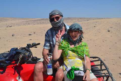 Marsa Alam: Sunset Quad Bike Safari with Dinner and Show