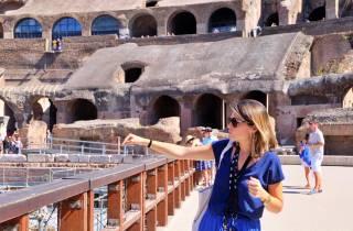Kolosseum: Exklusive Untergeschoss- und Arena-Tour