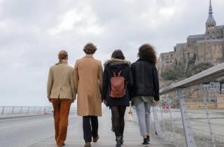 Ab Paris: Geführte Tagestour nach Mont Saint-Michel