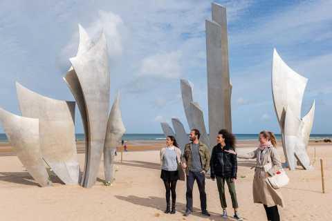 Vanuit Parijs: dagtrip D-Day-stranden in Normandië