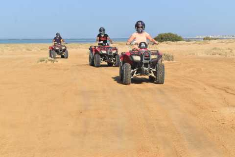 Marsa Alam: ATV-Quad Sun and Sea Safari