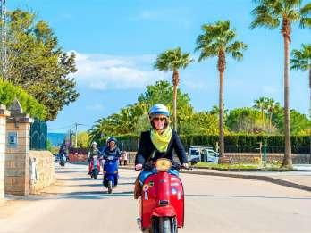 Mallorca: Tour durch Bergdörfer im Südwesten mit dem Scooter