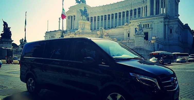 Rome: 6-Hour Private Luxury Vehicle Transport with Driver