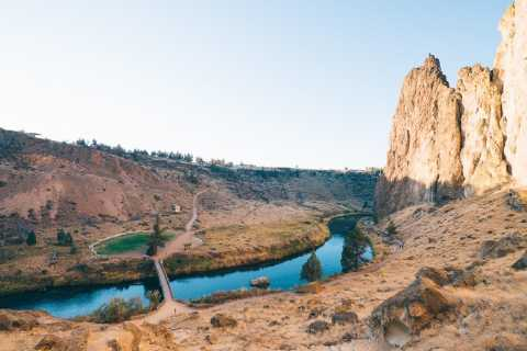 From Bend: Smith Rock State Park & Sisters Full-Day Tour