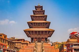 Ausgehen in der Dulikhel Hillstation mit Bhaktapur, Namobuddha