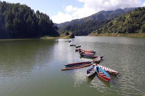 Chitlang Short Trekking With Boating From Kathmandu