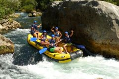 Rio Cetina: Rafting e Cliff Jumping Tour