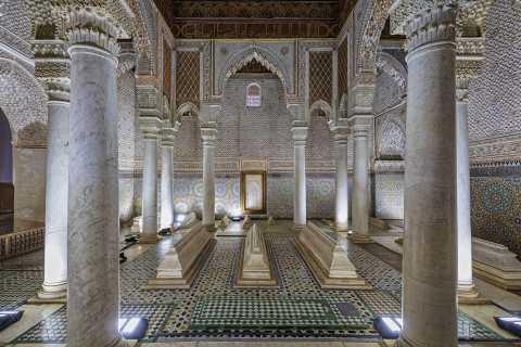 Bahia & Badii Palaces & Saadian Tombs Skip-the-Line Tour